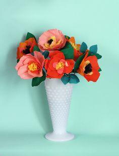 50 BEST PAPER FLOWER TUTORIALS   Bespoke-Bride: Wedding Blog