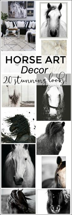Love horses? Me too! Choose from 21 beautiful horse art prints and photography for your home - show your passion for these gorgeous animals!