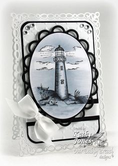 Inspired to Stamp: Love this lighthouse card :-)