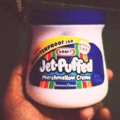 Marshmallow cream yummy