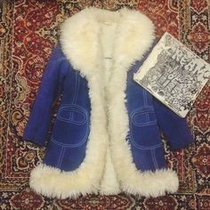 shopmiracleeye:  vintage 60s mercury blues suede fur coat for all our Penny Lane lovin' ladies with a penchant for the rarest of the coats, just added online! only one available - www.shopmiracleeye.com