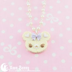 Cookie bear necklace 3