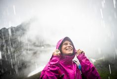 Bring the rain. Its never a bad day in the mountains for @angelcollinson as long as she has the right gear. The Novelty Venture Jacket shes sporting has been lab-and field-tested to ensure the best durable and breathable wet weather protection. Check out all of our rainwear at thenorthface.com. : @timkemple by thenorthface