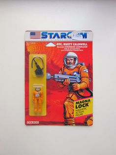 Rare Starcom the US space force Action figure in by lillamormor