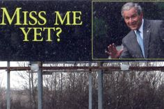 George W. Bush poll numbers up. Does America miss him yet?