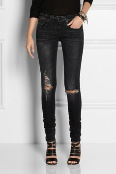 R13 distressed skinny jeans Outlet Shop Offer 26VaC