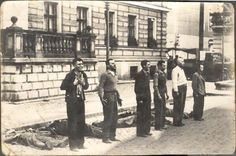 An execution during the Bloody Sunday in Bydgoszcz, Poland, 1939