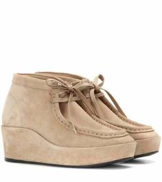 Suede wedge ankle boots | Balenciaga