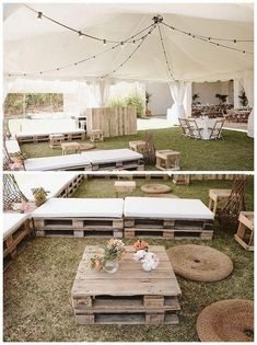 Over 70 inspiring decorating ideas for summer outdoor parties 5 ~ teloreci . Over 70 inspirin Summer Party Decorations, Wedding Decorations, Summer Parties, Garden Parties, Summer Events, Deco Champetre, Outdoor Dinner Parties, Outdoor Wedding Reception, Wedding Picnic