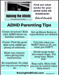 ADHD Parenting Tips to help reduce the chaos and calm your home!