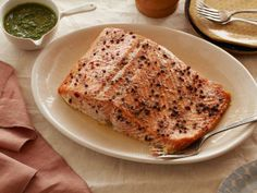 Roasted Salmon with Herbs #RecipeOfTheDay