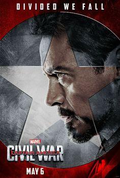 Capitão América 3 | Conheça o time do Homem de Ferro nas novas artes - Observatório do Cinema