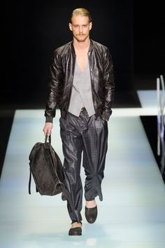 Giorgio Armani Spring Summer 2016 Collection Primavera Verano #Menswear #Trends #Tendencias #Moda Hombre  Milan Fashion Week - D.P.