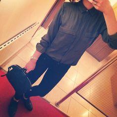 秋服可愛いw!買いに行かなきゃ♡  #aw#outfit#code#camisa#pant#zapatos#zara#ザラ#bag#givenchy#ジバンシー#ナイチンゲール#マニッシュ#マニッシュシューズ#物欲#秋冬#わくわく♥︎