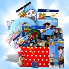 Toy Story Gift Baskets for Kids Ideal for Birthday , Get Well Gift Basket.  List Price: $42.99  Savings: $NA  Sale Price: $NA