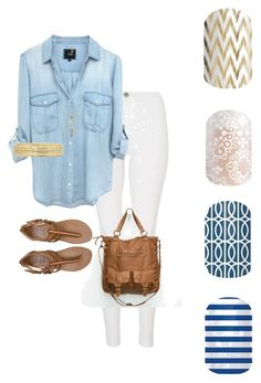 Casual Blue & White by lisa-mann-ward on Polyvore featuring polyvore, fashion, style, Quiz, Billabong, T-shirt & Jeans, Liz Claiborne, Aéropostale and lisaward