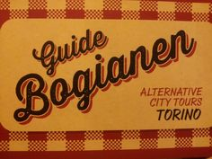 #GuideBogianen alternative #city #tour #Torino