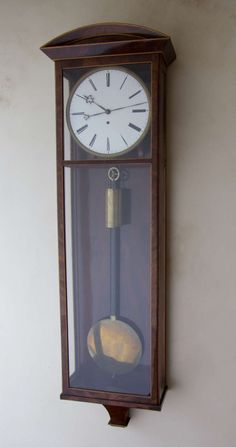 a beidermeier vienna regulator.  This is the most beautiful clock I've ever seen.