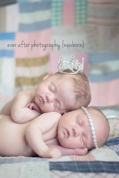 Bring the bling: | 34 Beautiful And Creative Photography Ideas For Twins