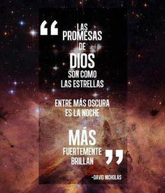 2 Corintios 1:20 Porque todas las promesas de Dios son en él Sí, y en él Amén, por medio de nosotros, para la gloria de Dios. ♔