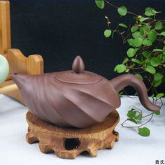 The Conch Ore Yixing teapot 150ml Clay Teapot ♦️More Like This At Fosterginger @ Pinterest♦️