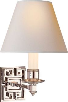 The Beautiful  Abbot Single-Arm Sconce by Alexa Hampton for Visual Comfort & Co.
