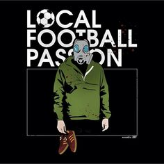 Tips And Tricks For Playing Better Football. Worldwide, football is a beloved pastime and sport for millions of all ages. Football Casual Clothing, Football Casuals, Football Design, Football Art, Pop Art Design, Logo Design, Chelsea C, Millwall Fc, Ultras Football