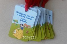 Cartão para lembrancinhas Branca de Neve  :: flavoli.net - Papelaria Personalizada :: Contato: (21) 98-836-0113  vendas@flavoli.net
