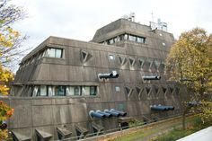 The Brutalist architecture in Berlin- The Free University