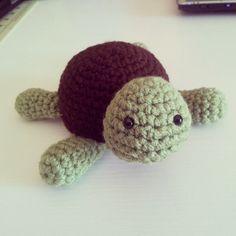 Small Turtle FREE Crochet Pattern!