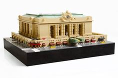 Grand Central Station, New York City. LEGO Model by Speshy.