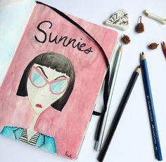 #sunniesART by Nia Barredo #sunniesstudios | Sunnies Studios
