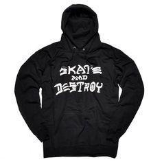 THRASHER Skate And Destroy sweat à capuche black 75,00 € #thrasher #thrasherskatemag #thrashermagazine #skateanddestroy #skate #skateboard #skateboarding #streetshop #skateshop @playskateshop