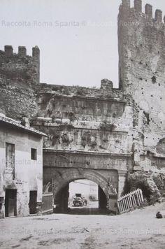 Foto storiche di Roma - Porta Tiburtina