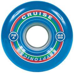 Kryptonics Cruise - Blue - 65mm 78a