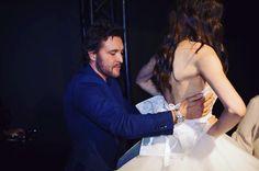 Backstage moments... #sisposaitalia #antonioriva #backstage #couture #weddingdress #elegance #milano #madeinitaly http://gelinshop.com/ipost/1520238455443325907/?code=BUY-NIWloPT