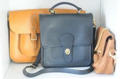 Small, structured bags – The Leather Satchel Co., Coach, Jenny Yuen