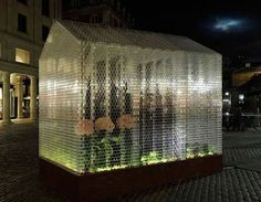 Functional Greenhouse Made Entirely of LEGO Bricks