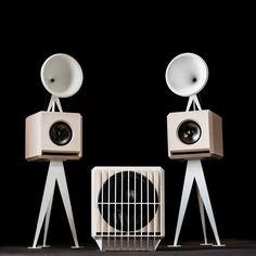 OMA Mini - Mini SUB - speakersysteem van Oswalds Mill Audio - more images on http://on.dailym.net/1onDdOB #David-DImperio, #Jonathan-Weiss, #Luidsprekers, #OMA-Mini, #Oswalds-Mill-Audio, #Subwoover