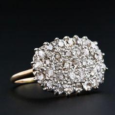 Antique Diamond Cluster Ring $3350