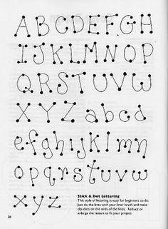 Molde de letras Mais