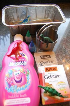 Making soap with toys inside.... Not sure I'd use a dark coloring but a pale pink or blue would be good.
