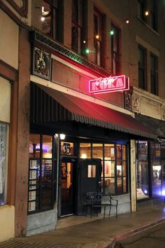 Café Roka sits on an historic street in Bisbee, Arizona