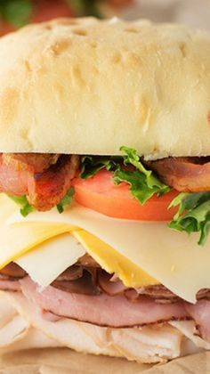 Ultimate California Club Sandwich