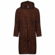 b3dc7263a1 Egyptian Hooded Chocolate Bath Robes Men Women – Linen and Bedding   BedSheetsYellow