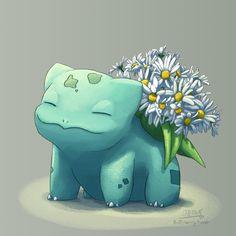 Blooming Bulbasaur #34 - Daisy