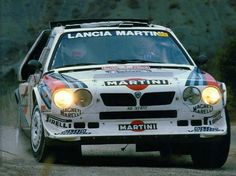 Monte Carlo 1986 Markku Alen.