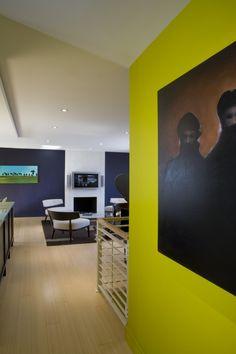 Wohnideen Zum Streichen Der Wände  Farbig Und Kreativ
