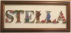 STELLA Paper Quilling Name Plate by wholedwarf on DeviantArt