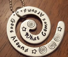 What Goes around Comes around... by Basil and Daisy Smith on Etsy